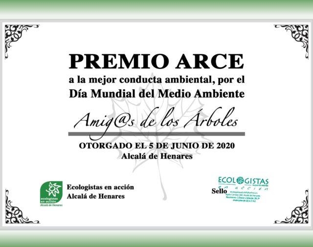 ECOLOGISTAS ALCALÁ ENTREGA LOS PREMIOS ATILA Y ARCE