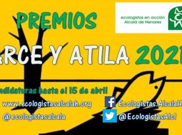 Convocatoria de los Premios Atila y Arce 2020 de Alcalá de Henares