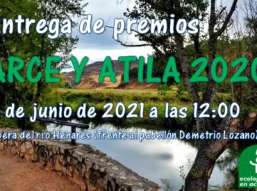 Entrega Premios ARCE y Atila 2020